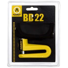 Bloc Disque Moto AUVRAY Diamètre 10 BD22 avec sacoche