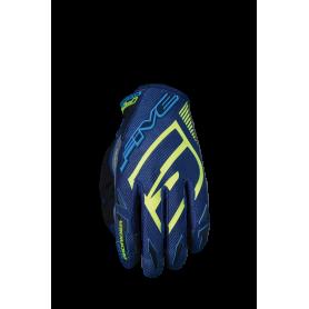 gants-moto-cross-five-mxf-prorider-s-bleu-marine-jaune