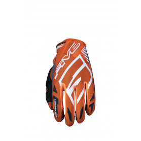 gants-moto-cross-five-mxf-prorider-s-orange-blanc