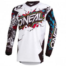 maillot-cross-oneal-element-villain-blanc-20