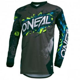 maillot-cross-oneal-element-villain-gris-fonce-20