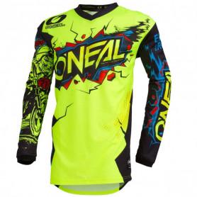maillot-cross-oneal-element-villain-jaune-fluo-20