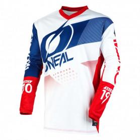 maillot-cross-oneal-element-factor-blanc-bleu-rouge-20