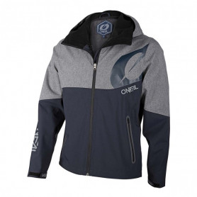 Veste-ONEAL-Cyclone-Softshell-Blue-Gray