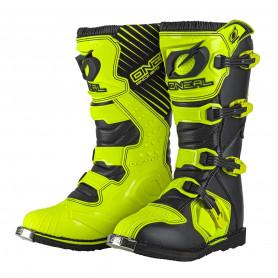 Bottes-Moto-Cross-ONEAL-Rider-Neon-Yellow