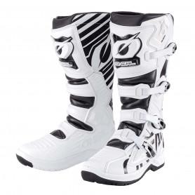 Bottes-Moto-Cross-ONEAL-RMX-White-Black