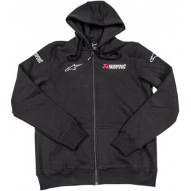 Sweat-ALPINESTARS-AKRAPOVIC-Black
