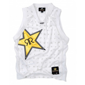 T-Shirt-ONE-INDUSTRIES-Rockstar-White-Star-Baller