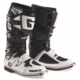 Bottes Moto Cross GAERNE SG12 Black White