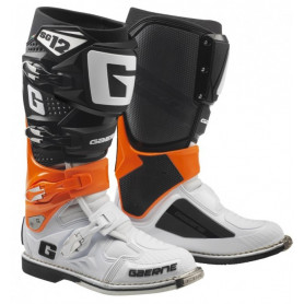 bottes-moto-cross-gaerne-sg12-orange-black-white
