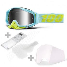 masque-cross-100%-the-racecraft-pinacles-miroir-sylver
