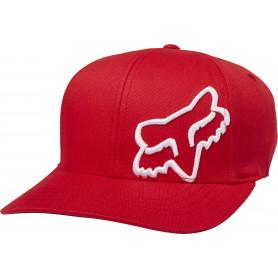 casquette-fox-flex-45-flexfit-rouge-fonçe-enfant