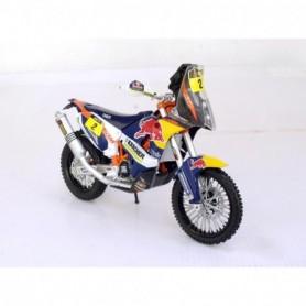 Miniature KTM 450 Dakar Coma Red Bull