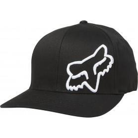 casquette-fox-flex-45-flexfit-noire-blanche-pe-20