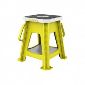 Tabouret Moto + Support de Derrick ACERBIS Kubro Stand Yellow Fluo White