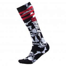 Chaussettes-de-Cross-ONEAL-Pro-MX-Crossbones-Black-White-Taille-Unique