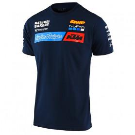t-shirt-troy-lee-designs-ktm-team-navy