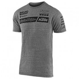 t-shirt-troy-lee-designs-ktm-team-vintage-grey