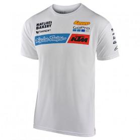 t-shirt-troy-lee-designs-ktm-team-white