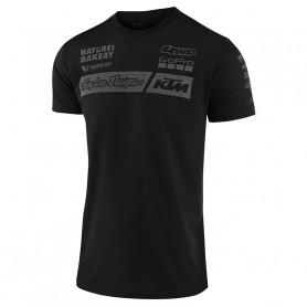 t-shirt-troy-lee-designs-ktm-team-black