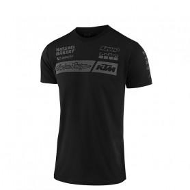 t-shirt-troy-lee-designs-ktm-team-black-enfant