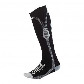 Chaussettes-de-Cross-ONEAL-Pro-MX-Zipper-Black-Taille-Unique