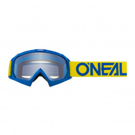 masque-cross-oneal-youth-b-10-solid-yellow-blue-clear
