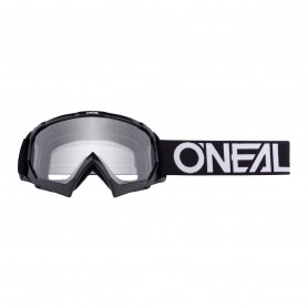 masque-cross-oneal-youth-b-10-solid-black-white-clear