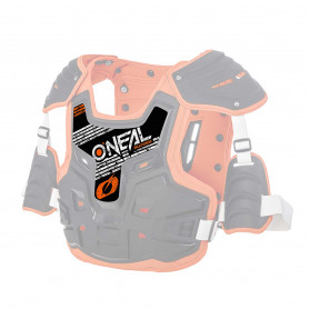 Autocollant Pare Pierre ONEAL Pxr Stone Shield Black Orange 20