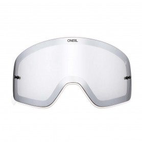 ecran-double-oneal-b-50-white-silver-mirror