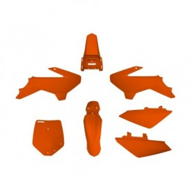 Kit Plastique YCF 50 cc 07-16 Orange
