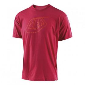 t-shirt-troy-lee-designs-logo-sangria-red