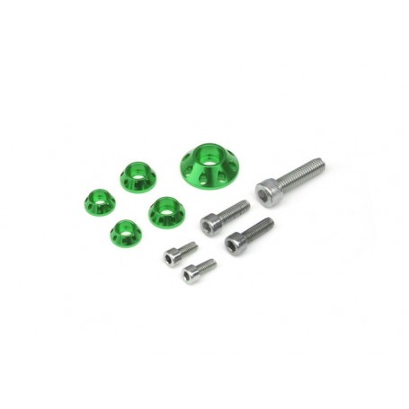 Kit Rondelle YCF Pour Kit Plastique et Reservoir Green
