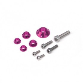 Kit Rondelle YCF Pour Kit Plastique et Reservoir Violet