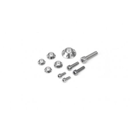 Kit Rondelle YCF Pour Kit Plastique et Reservoir Silver