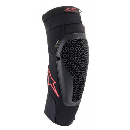 genouilleres-alpinestars-bionic-flex-protector-noire-rouge