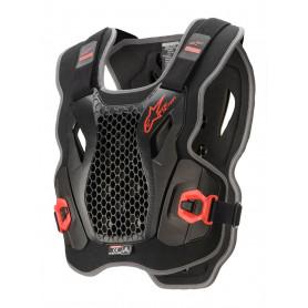 pare-pierre-alpinestars-bionic-protector-noir-rouge