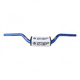 Guidon Aluminium YCF Sans Barre Diametre 28.6 mm Blue