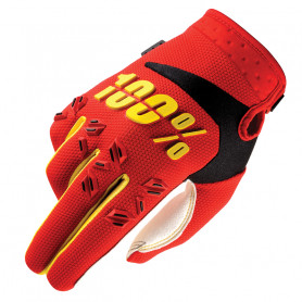 gants-moto-cross-100-the-airmatic-red