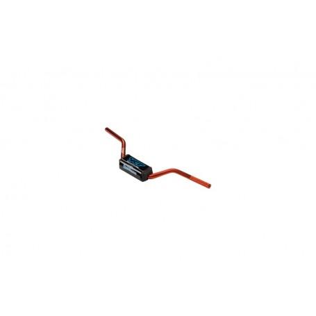Guidon Aluminium YCF Sans Barre Diametre 28.6 mm Orange