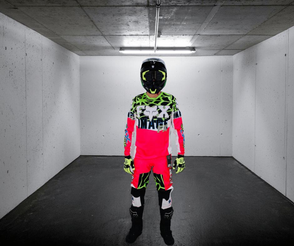 Tenue Moto Cross FOX Edition Limitée Héritage Venin 2021