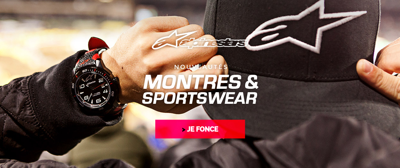 Montres et sportwear alpinestars