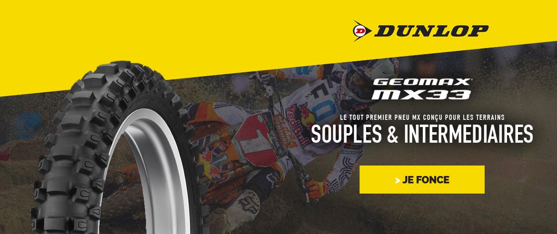 Nouvelle collection pneu Dunlop