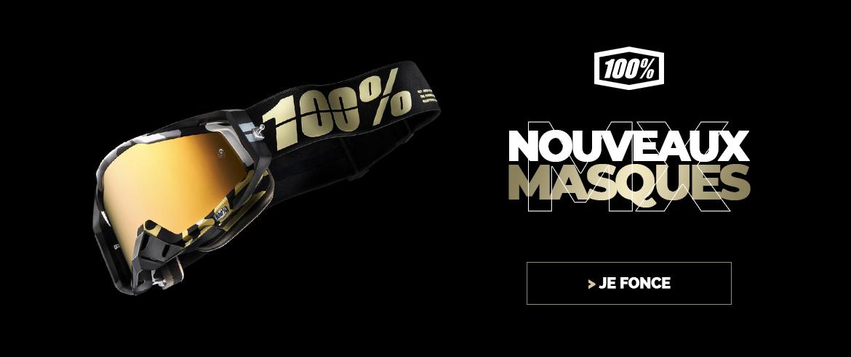 Nouveautés masque 100%